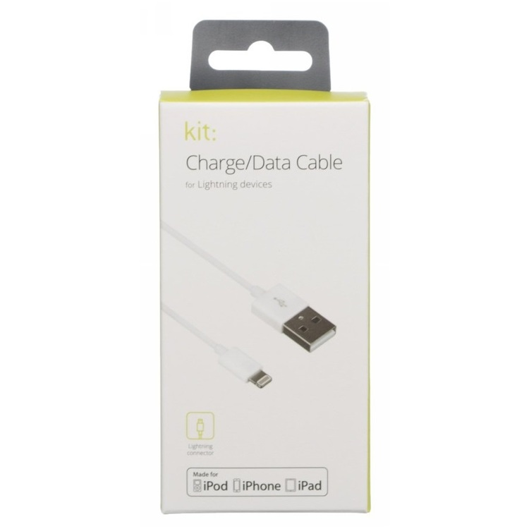 iPhone Kit Charge/data cable 3m Lightning USB