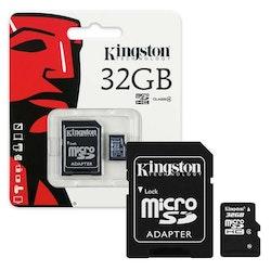 Kingston 32GB MicroSD Class 4