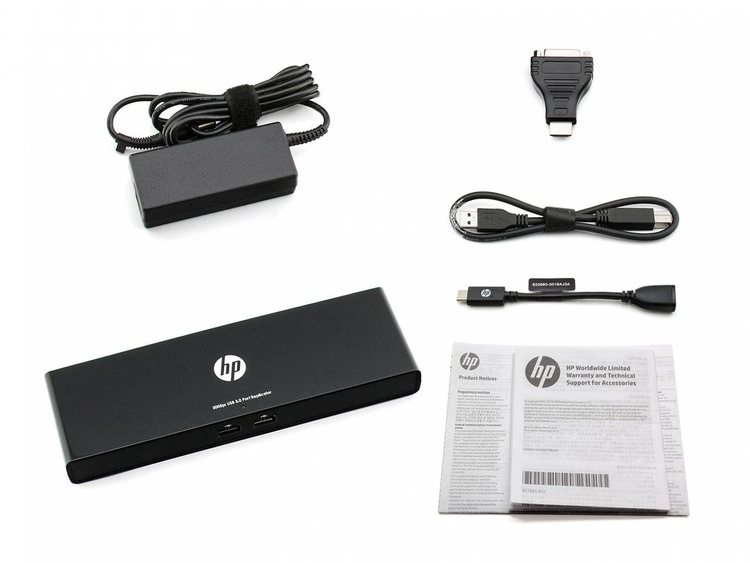 HP 3005pr USB3 Port Replicator