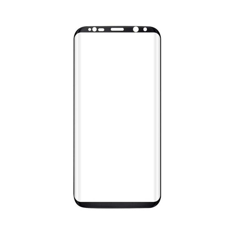 amorus Tempered Glass 9H Samsung S8 Black