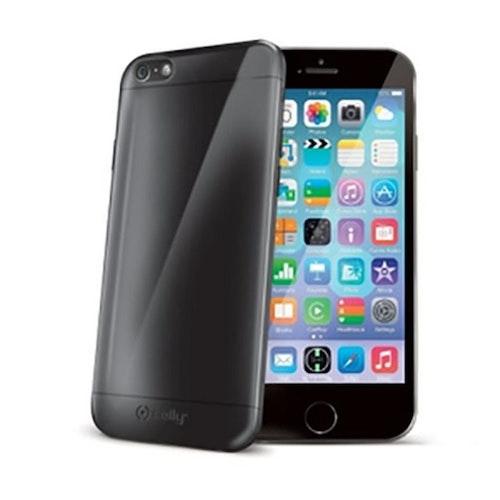 Celly iPhone 6 mobilskal Gelskin600bk Grå