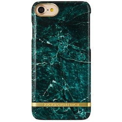 Richmond & Finch Mobilskal iPhone 7+ Green Marble Glossy