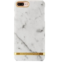 Richmond & Finch Mobilskal Iphone 7+ Carrera (White) Marble Glossy