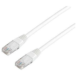 PROKORD nätverkskabel 2m CAT 6 Vit