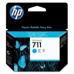HP 711 (CZ130A) cyan bläckpatron.