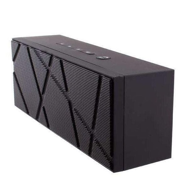 Bluetooth Speaker X6 rubber Black 2-Pack