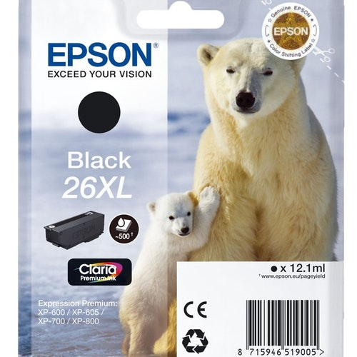 Epson Expression premium 26 XL Black