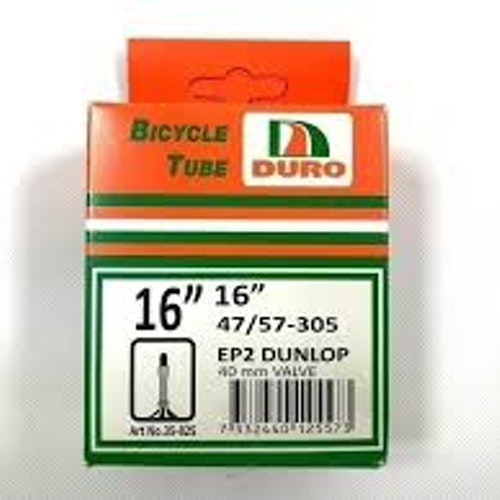 "Dunlop 16"" cykel slang EP2"