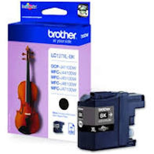 Brother bläckpatron LC127XL BK