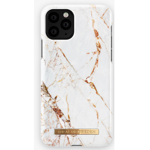 iDeal of Sweden Carrara Gold iPhone Pro/XS/X Mobilskal