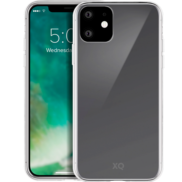 XQISIT iPhone 11 Skal FLEX CASE Genomskinligt