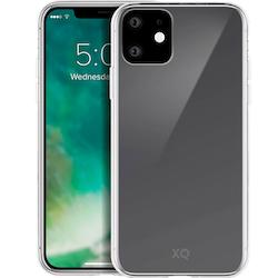 XQISIT iPhone 11 Skal FLEX CASE Genomskinligt