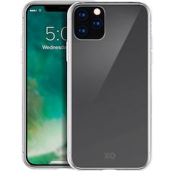 XQISIT iPhone 11 Pro Max Skal FLEX CASE Genomskinligt