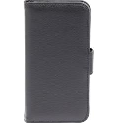 iZound Genuine Leather Wallet Case Samsung Galaxy Xcover 4 Mobilskal