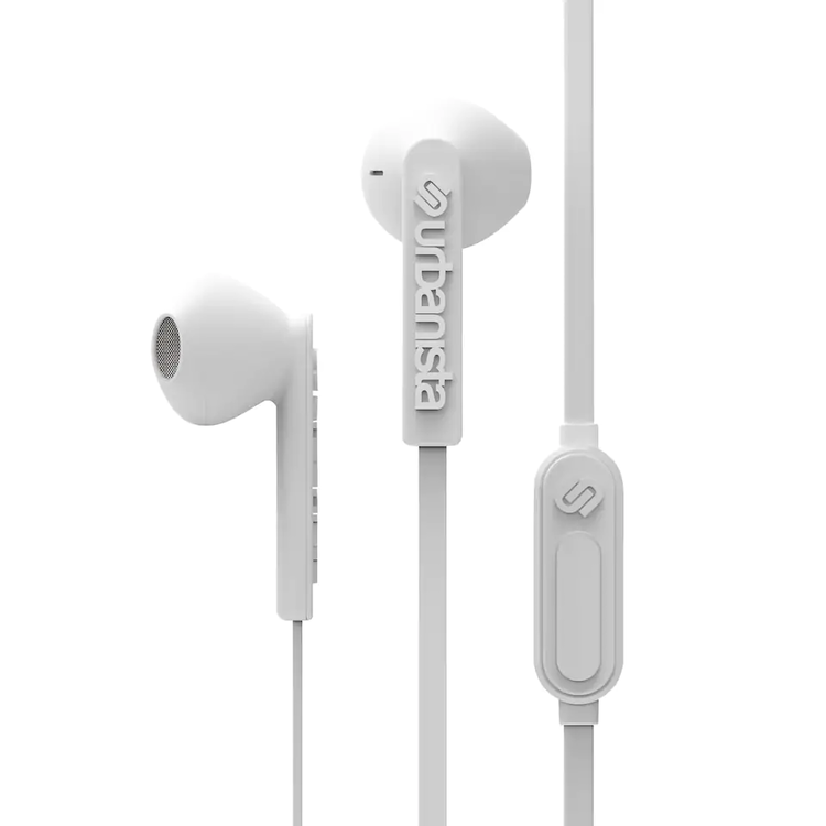 Urbanista Hörlurar In-Ear Buds San Francisco (vit)