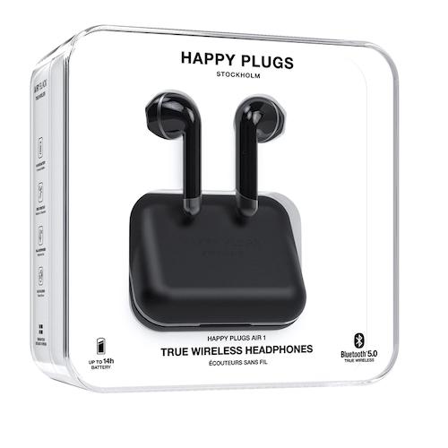 Stockholm Happy Plugs Air1 True Wireless Headphones Svart