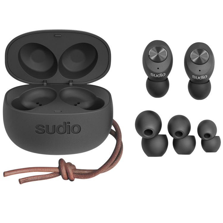 Sudio TOLV True Wireless In-ear Hörlurar Svart