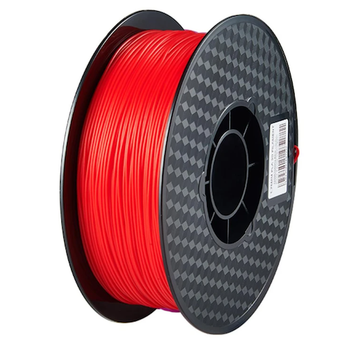 3D Printer Filament Fluorescent red 1KG 1.75mm