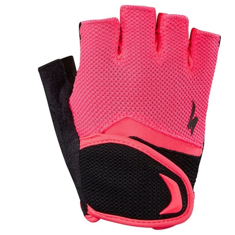 BG KIDS GLOVE SF BLK/ACID RED XL