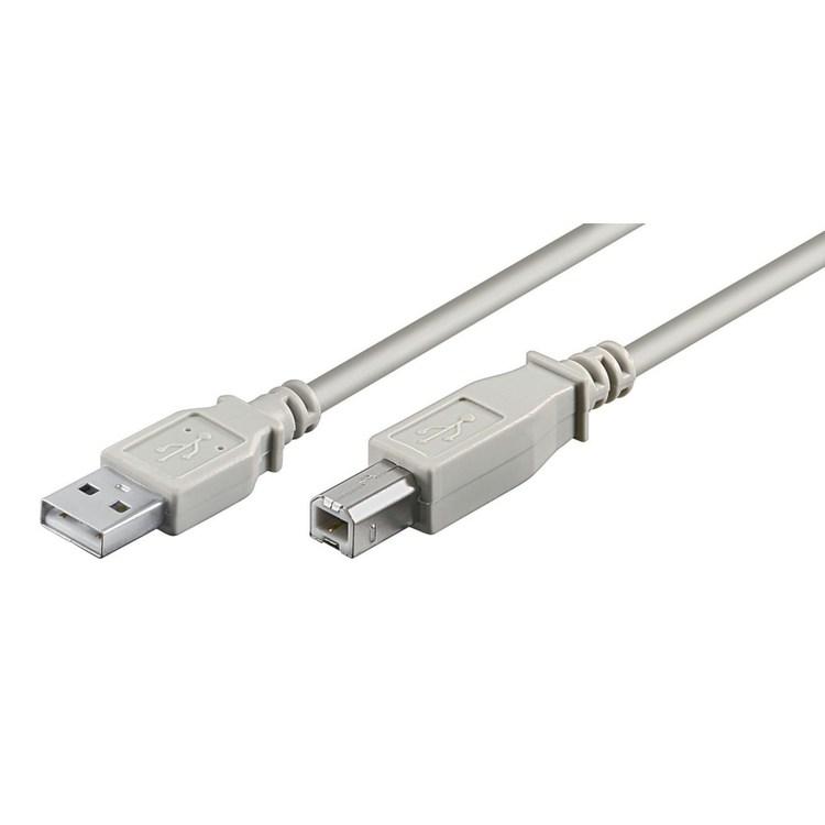 Luxorparts USB-B kabel 0.5m