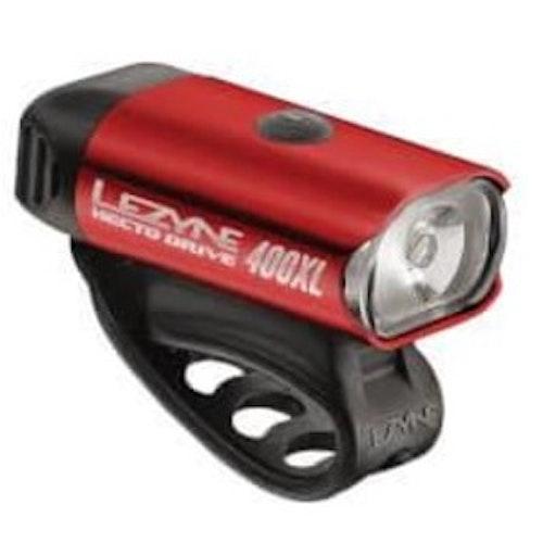 Framlampa Lezyne Hecto Drive 400XL Röd