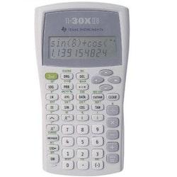 Texas Instruments TI-30 X IIB Miniräknare Silver Display (Siffror): 11, batteridriven (B x H x D) 82 x 19 x 155 mm