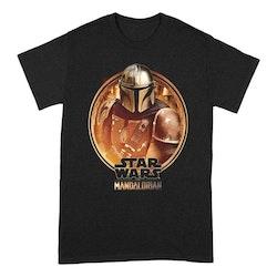 Mandalorian t-shirt - Framed