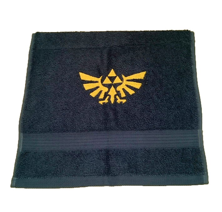 Gästhandduk - Zelda - Logo