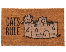 Simons Cat dörrmatta - Cats rule