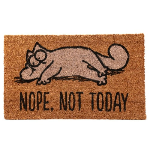 Simons Cat dörrmatta - Nope