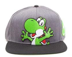 Super Mario keps - Yoshi  *** Snapback ***