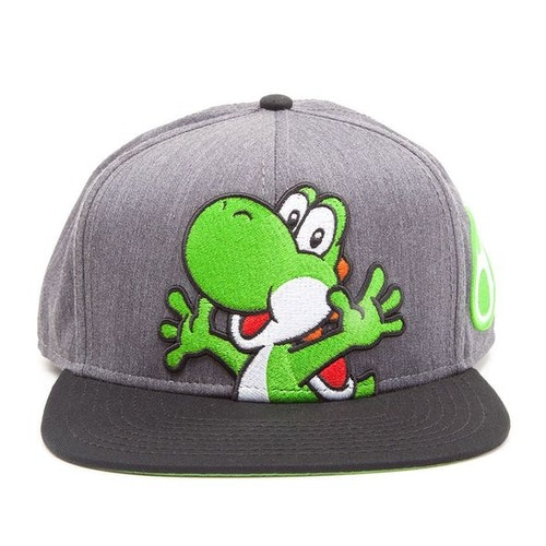 Super Mario keps - Yoshi  *** Snapback ***