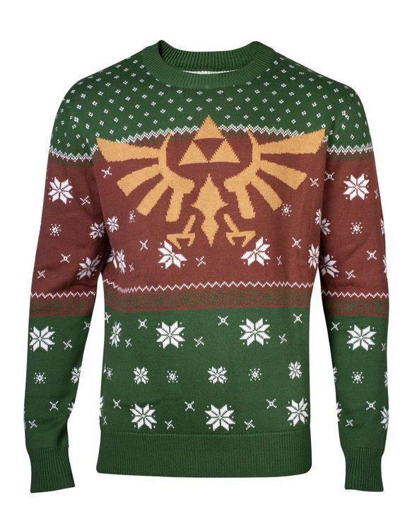 Zelda jultröja - Grön