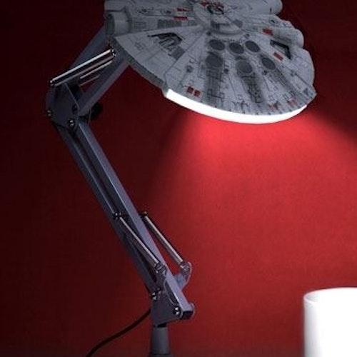 Star Wars Millennium Falcon skrivbordslampa