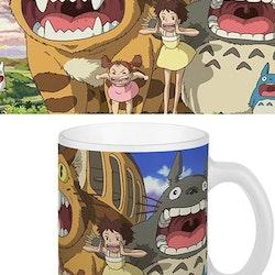 Totoro mugg - Kattbussen