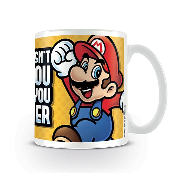 Super Mario mugg - Smaller