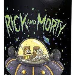 Rick & Morty vattenflaska