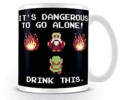 Zelda mugg - Retro