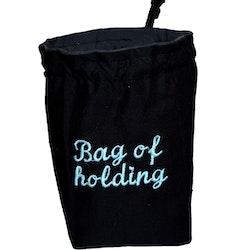 Broderad tärningspåse - Bag of Holding
