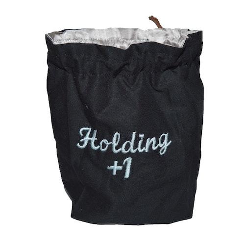 Broderad tärningspåse - Holding +1