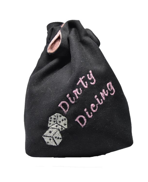 Broderad tärningspåse - Dirty Dicing