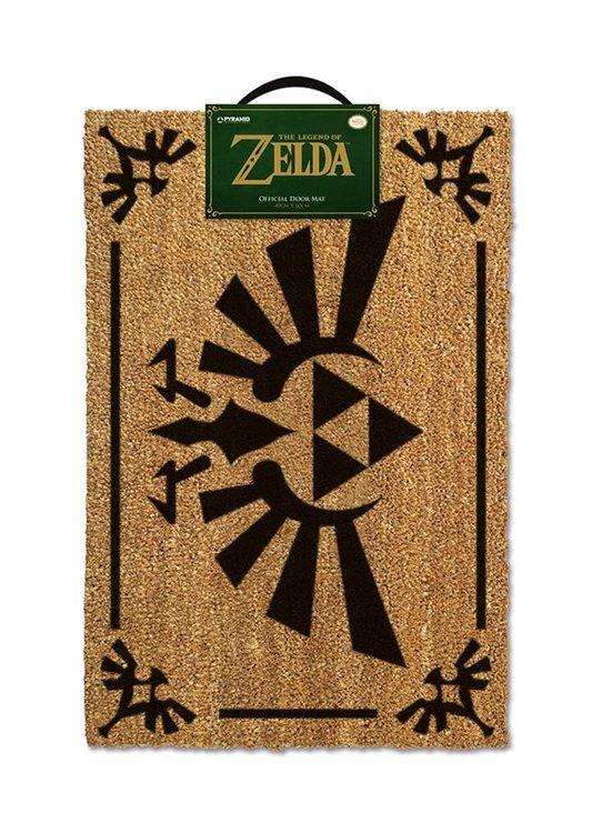 Zelda dörrmatta - Logo