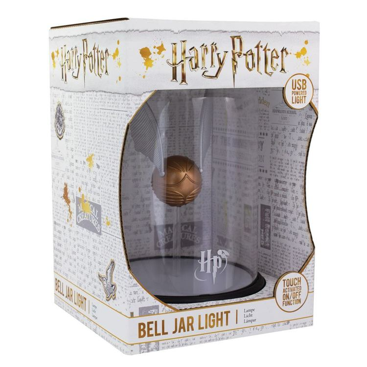 Bell Jar Light - Bordslampa - Harry Potter - Golden Snitch