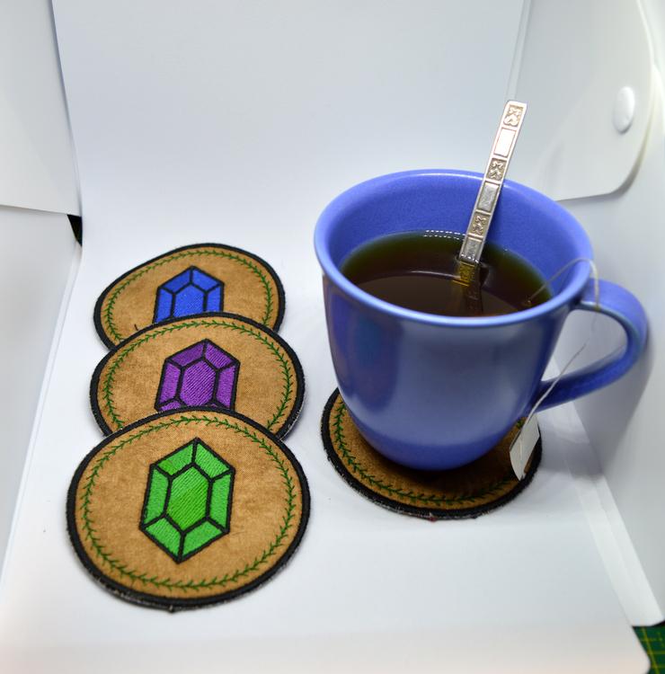 Zelda - Rupee - glasunderlägg