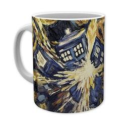 Doctor Who Mugg - Exploding Tardis