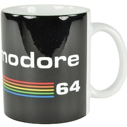 Commodore 64 mugg - Svart