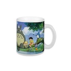 Studio Ghibli mugg - Totoro fishing