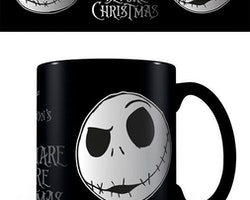 Nightmare Before Christmas mugg - Jack foil face