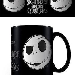 Nightmare Before Christmas mugg - Jack foil face