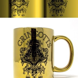 Harry Potter mugg - Gringotts Metallic